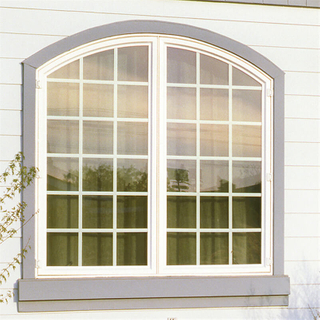 Quality-guaranteed Curved Window Aluminum Sliding Curved Window with Waterproof Function