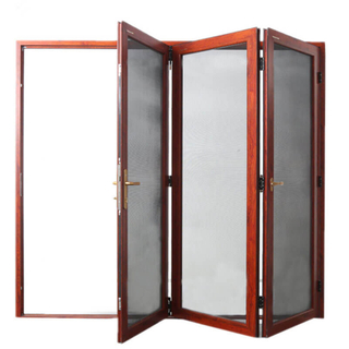 2018 Hot Sale Aluminum Folding Door with Soundproofing Customizable Folding Door