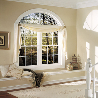 Professionally Designed Curved Window Sliding Curved Window with Waterproof Function